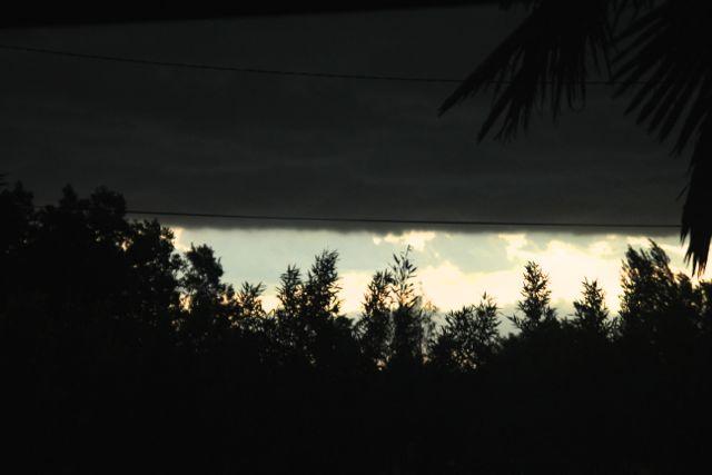 Sous l'orage